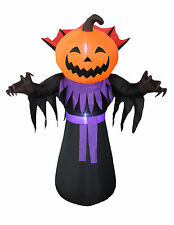 Halloween Inflatable Yard Party Air Blown Decoration Scary Pumpkin Ghost Monster