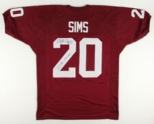 "Billy Sims Signed Oklahoma Sooners Jersey Inscribed ""78 Heisman""Gridiron Legends"