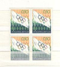 Q7568 - JUGOSLAVIA - 1970 - QUARTINA USATA OLIMPIADI N°1280 - VEDI FOTO