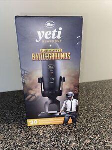 Blue Yeti Blackout + Player Unknown's Battlegrounds Streamer Bundle
