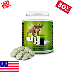 Bully Max The Ultimate Canine Supplement Muscle Builder for Dogs 60 Tablets