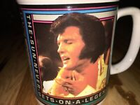 Elvis Presley 1992 Coffee Cup Aloha From Hawaii Via Satellite Mug EPE New