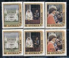 ANTIGUA & BARBUDA 663-74 SG748-59 MNH 1982 Commemoratives 2 sets Cat$7