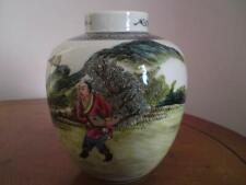 Chinese Republic Eggshell Porcelain Jar Execution / Torture Scene