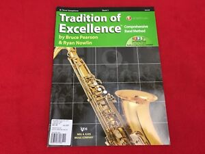 Tradition of Excellence - Book 3 - Bb Tenor Saxophone - Pearson/Nowlin - W63XB