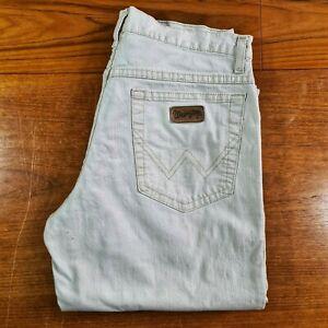 Wrangler Mens Texas Stretch Jeans Cream W 32 L 34