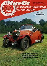 Markt 12/83 1983 Borgward Hansa 1500 1800 Delaunay Belleville Voisin Andrees