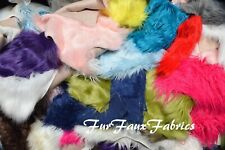 1 lbs Luxury Shaggy Remnant Faux Fur Atleast 6
