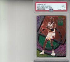 1993 Ultra #2 Michael Jordan Power In The Key PSA 9 MINT JUST GRADED HIGH END