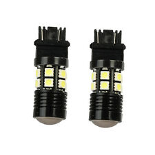2X 3157 White 6000K Back Up Reverse Projector 12-SMD Chip LED Lights Bulbs HS