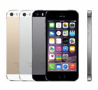 Apple iPhone 5S 16GB 32GB 64GB Space Gray Silver Gold Unlocked A1533 GSM