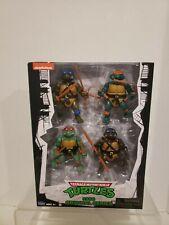 NEW Teenage Mutant Ninja Turtles 1988 original series classic 4 pack GAMESTOP
