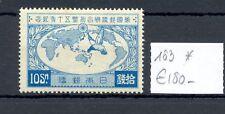 JAPAN --MI# 183--CV € 180--* MH --VF