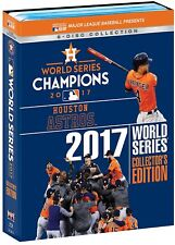 MLB World Series 2017 Houston Astros Collector's Edition Blu-ray NEU Alle Spiele
