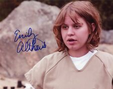 """~~ EMILY ALTHAUS Authentic Hand-Signed """"ORANGE IS THE NEW BLACK""""  8x10 Photo B~~"""