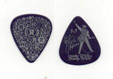 Rick Nielsen Cheap Trick Show Used Signature Guitar Pick - Dark Purple