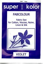 VIOLET Fabric Dye for Clothes Cotton Linen Viscose Silk+ Powder hand dye