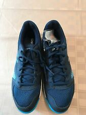 Sample/NEW ASICS Men's Gel Domain 4 Volleyball Shoe Poseidon Blue White 9M US