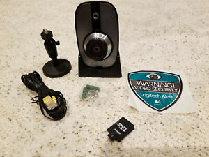 Logitech Alert 700n Indoor Camera w/ Nightvision with additional parts
