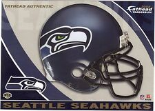 SEATTLE SEAHAWKS HELMET & LOGO FATHEAD TRADEABLES REMOVABLE STICKER 2008 #H28
