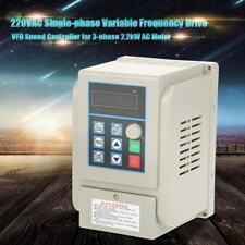 2.2kW 220V Universel VFD Variateur de fréquence Contrôleur Vitesse PWM Variable