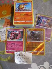 Lot 200 Cartes Pokemon Fr 100% Pas de double NEUF + 4 Brillantes + 2 Rare