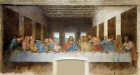 Huge!! 80cmX150cm size - Da Vinici - The Last Supper - Canvas Art Print Unframed