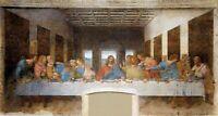 Huge!! 80cmX150cm size - Da Vinici - The Last Supper - Canvas Art Print Unframed