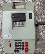 Vintage Calculator Hermes 108-8 Precisa Adding Machine W. Germany in Nice Condi
