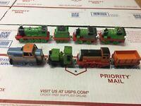 Thomas & Friends Tank Engine Train Car LOT of 8 MAGNET Diecast Norman