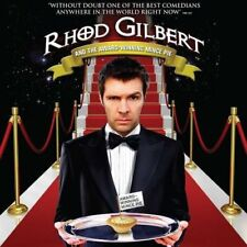 Rhod Gilbert Live And the Award Winning Mince Pie Comedy CD Audio Book Stand Up
