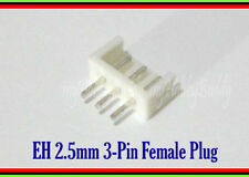 200pcs EH 3 Pin 2.5 Female Connector Socket for Li-PO Balance Adapter PCB Board
