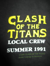 1991 CLASH OF THE TITANS (LG) Tank Top MEGADETH SLAYER ANTHRAX ALICE IN CHAINS