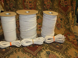 5 Yds Each 3 & 4 & 5 MM Bungee Cord Stringing Elastic For Repair of Dolls USA