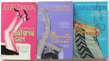 3 PBs JULIA LONDON Complete Series LEAR FAMILY TRILOGY Material Girl/Beauty Quen