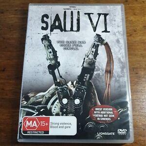 Saw VI DVD R4 LIKE NEW FREE POST
