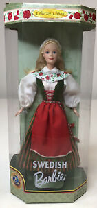 1994 Swedish Collector Edition Barbie Doll's of the World