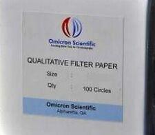 Omicron Qualitative Filter Paper 9.0cm 2000/Pk (Bulk Pricing)