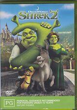 SHREK 2 DVD WITH NEW SURPRISE ENDING & BONUS FEATURES - GREAT !!!