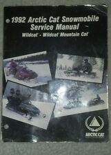 1992 Arctic Cat Wildcat service manual