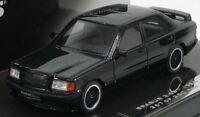Minichamps 1/43 Mercedes Benz 190E 3.6 S Brabus 1989 Black 437032601