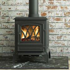 Windsor 5 5kW multifuel stove | Broseley | Matt Black