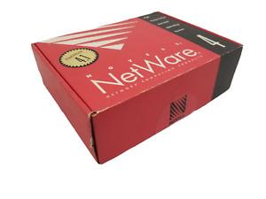 VTG Novell Netware 4.1 For 5 Users License FLOPPY DISKS Open box