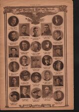World War I Roll of Honor 1918 Deaths of Heros WWI #44