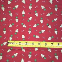 Christmas Trees MODA Merry Merry Snow Days 100% cotton fabric by the yard Red