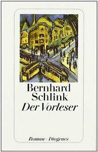 Der Vorleser. Roman von Schlink, Bernhard | Buch | Zustand gut