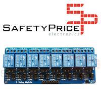 Modulo 8x RELE 10A 250V Optoacoplado 5v Arduino, Raspberry Pi, Pic, AVR, ARM SP