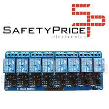 Modulo 8x RELE 10A 250V Optoacoplado - Arduino, Raspberry Pi, Pic, AVR, ARM SP