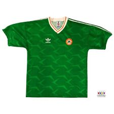 Republic Of Ireland 1990/92 International Home Soccer Jersey Large Adidas