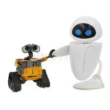 2x Mini Disney Pixar Wall-E and Eee-Vah PVC Action Figure Loose 9.5cm
